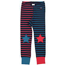 Buy Polarn O. Pyret Children's Star Leggings, Blue Online at johnlewis.com