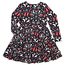 Buy Polarn O. Pyret Children's Nordic Dress, Black Online at johnlewis.com