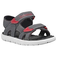Buy Timberland Children's Perkins Double Strap Sandals Online at johnlewis.com