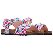 Buy Little Joule Children's Pretty Kitty Ditsy Tippy Toes Sandals, Multi Online at johnlewis.com
