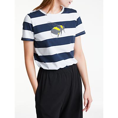 People Tree Stripe Bee T-Shirt, Multi