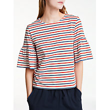 Buy People Tree Trisha Stripe Top Online at johnlewis.com
