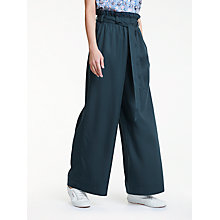 Buy People Tree Susie Trousers, Blue Online at johnlewis.com