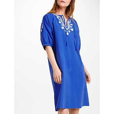People Tree Pia Dress, Blue