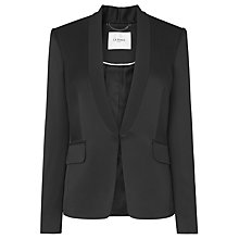 Buy L.K. Bennett Deluxe Blazer, Black Online at johnlewis.com