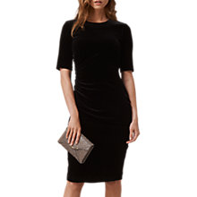 Buy L.K. Bennett Kara Velvet Dress Online at johnlewis.com