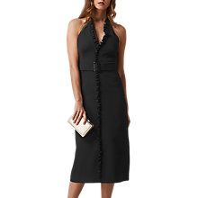 Buy L.K. Bennett Miriam Halterneck Dress, Black Online at johnlewis.com
