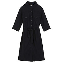Buy Brora Utility Shirt Dress, Anthracite Online at johnlewis.com