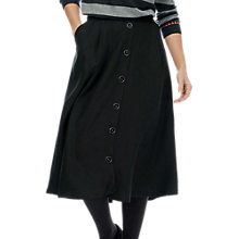 Buy Brora Button Through Utility Skirt, Anthracite Online at johnlewis.com