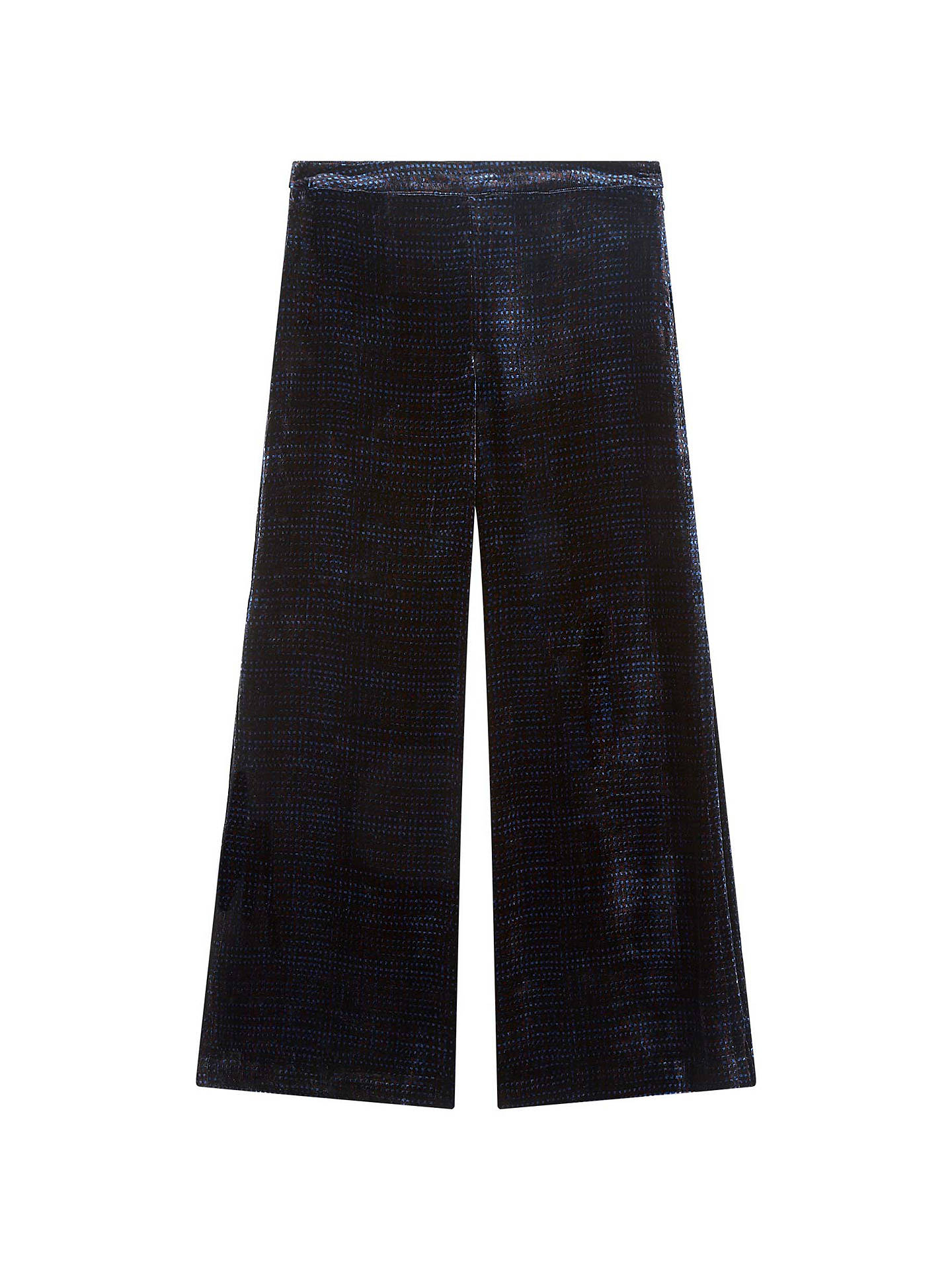 BuyBrora Printed Silk Velvet Trousers, Nightshade, 6 Online at johnlewis.com