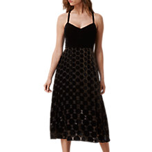 Buy L.K. Bennett Poppy Dress, Black/Gold Online at johnlewis.com