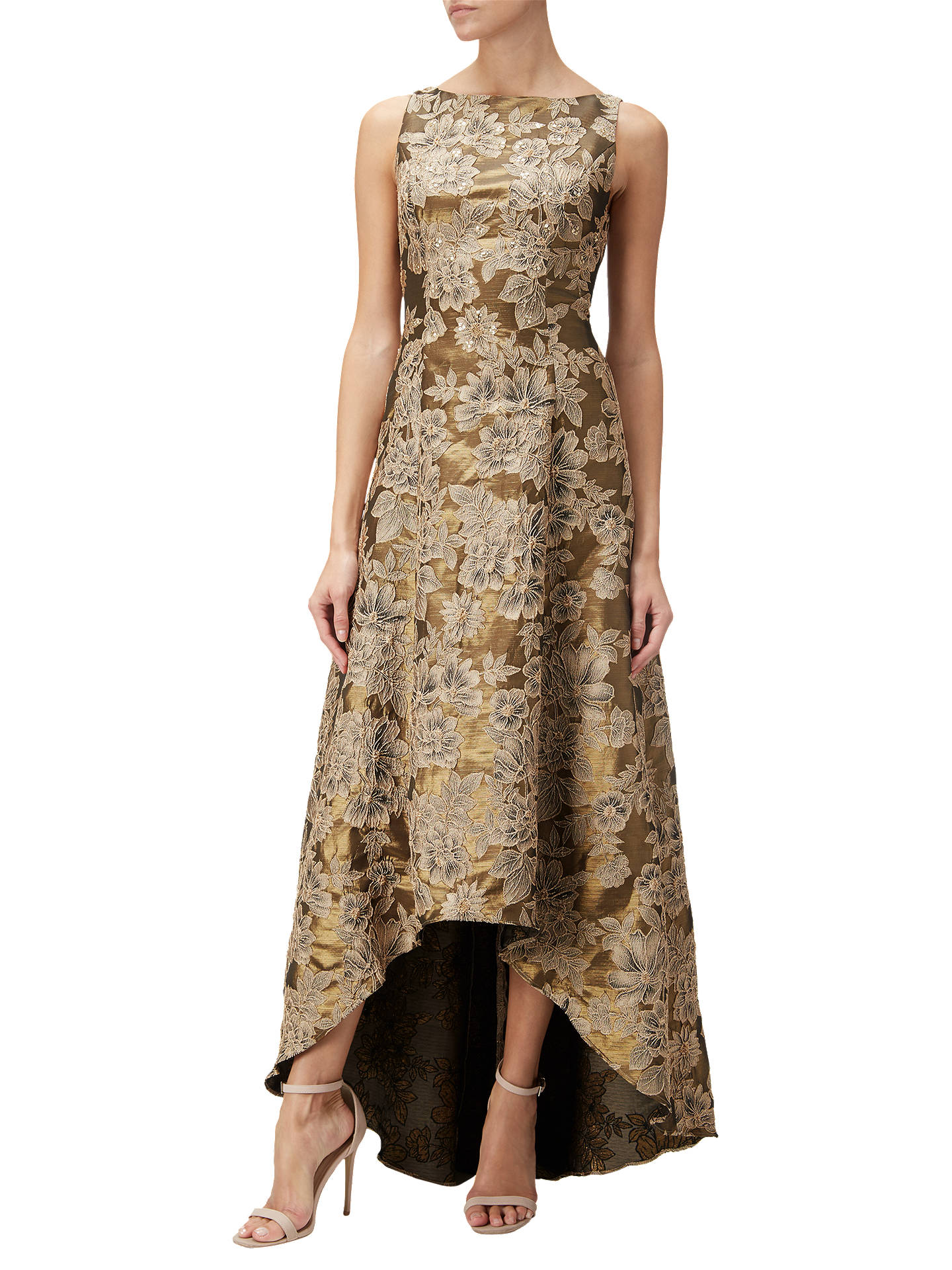 a472d00b66a44 Buy Adrianna Papell High-Low Floral Jacquard Ball Gown
