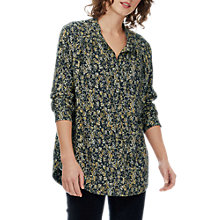 Buy Brora Painterly Floral Tunic Top Online at johnlewis.com