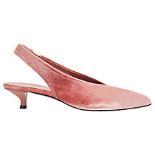 Buy Jigsaw Loren Slingback Kitten Heeled Court Shoes Online at johnlewis.com