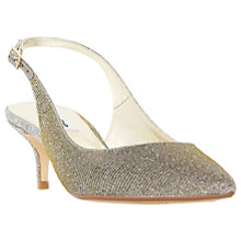 Buy Dune Casandra Kitten Heeled Slingback Court Shoes Online at johnlewis.com