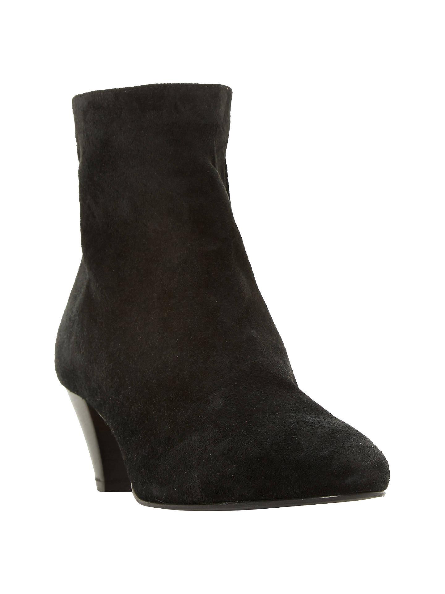 cfbfc73cb6d Buy Dune Black Olyve Kitten Heel Ankle Boots