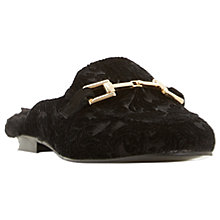 Buy Dune Gole Mule Faux Fur Lined Loafers Online at johnlewis.com