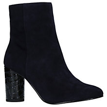 Buy Carvela Smiling Block Heeled Ankle Boots Online at johnlewis.com