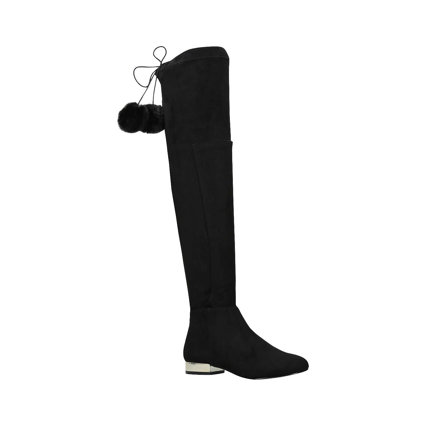 BuyMiss KG Vicky Over the Knee Boots, Black, 3 Online at johnlewis.com