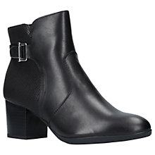 Buy Carvela Comfort Rose Block Heeled Ankle Boots Online at johnlewis.com