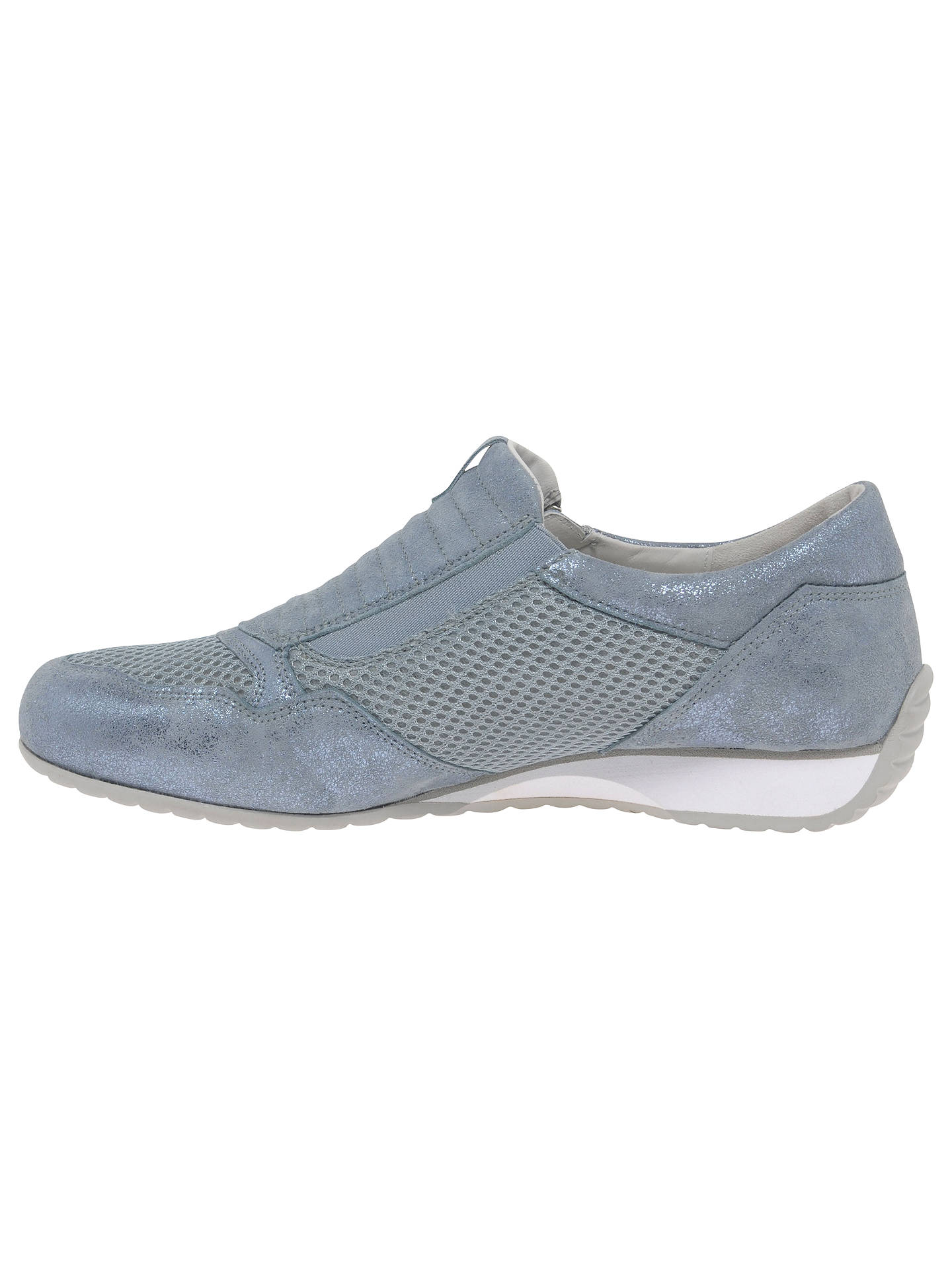 fb611f82b318bb Buy Gabor Brunello Wide Fit Zip Trainers