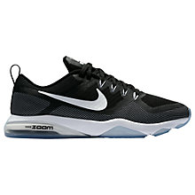 Buy Nike Zoom Fitness Cross Trainer, Black Online at johnlewis.com