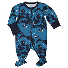Buy Polarn O. Pyret Forest Onesie, Blue Online at johnlewis.com