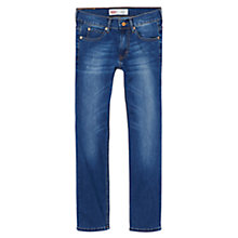 Buy Levi's Boys' Slim Fit Tapered Jeans, Dark Blue Online at johnlewis.com