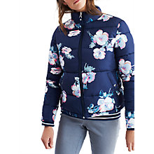 Buy Joules Claremont Reversible Padded Jacket, Navy Poppy Online at johnlewis.com