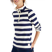 Buy Joules Saunton Sweatshirt, French Navy Online at johnlewis.com