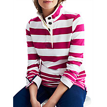 Buy Joules Saunton Sweatshirt, Ruby Online at johnlewis.com