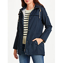 Buy Barbour Bamburgh Waterproof Jacket, Navy Online at johnlewis.com