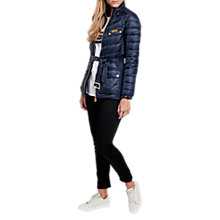 Buy Barbour International Gleann Quilted Jacket Online at johnlewis.com