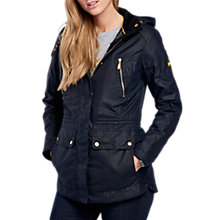 Buy Barbour International Ridge Waxed Jacket, Royal Navy Online at johnlewis.com