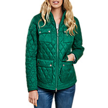 Buy Barbour Dolostone Quilted Jacket, Evergreen Online at johnlewis.com