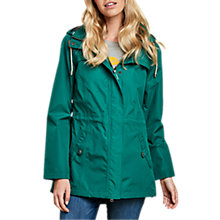 Buy Barbour Hanover Waterproof Jacket, Evergreen Online at johnlewis.com