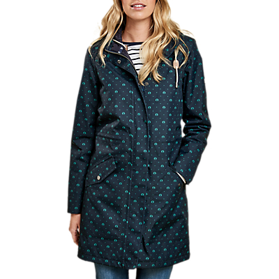 Barbour Decoy Beacon Print Waterproof Jacket, Navy/Green