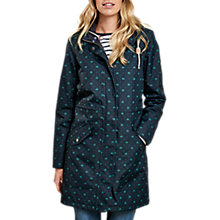 Buy Barbour Decoy Beacon Print Waterproof Jacket, Navy/Green Online at johnlewis.com