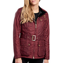 Buy Barbour International Trail Waxed Jacket Online at johnlewis.com