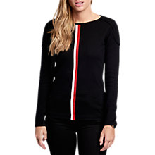 Buy Barbour International Byway Jumper, Black Online at johnlewis.com