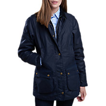 Buy Barbour Rachel Liberty Waxed Jacket Online at johnlewis.com