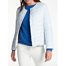 Buy Weekend MaxMara Locarno Short Quilted Jacket, Ice Online at johnlewis.com