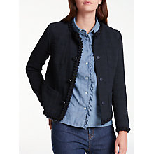 Buy Weekend MaxMara Fulcro Jacket, Ultramarine Online at johnlewis.com