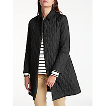 Buy Weekend MaxMara Marus Quilted Jacket, Black Online at johnlewis.com