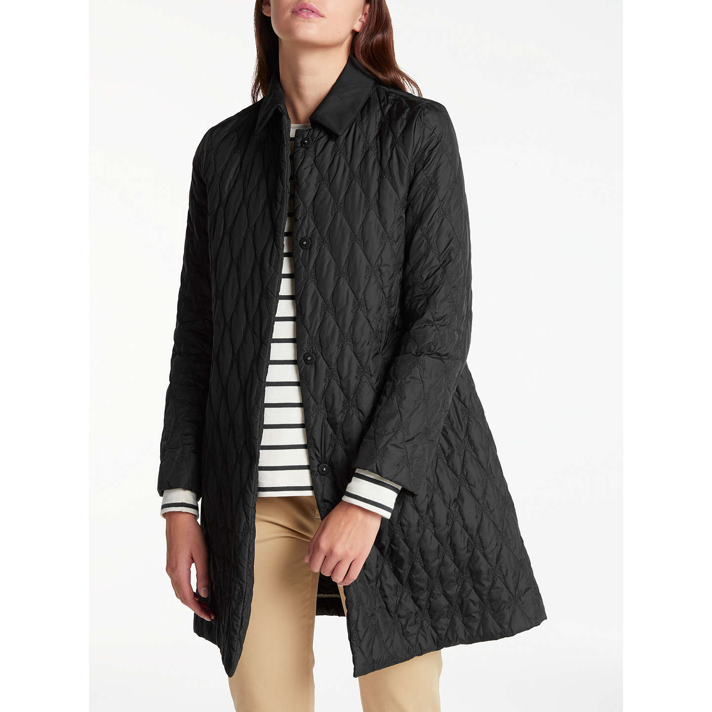 Outlet Locations Cheap Price S MaxMara Quilted Knee-Length Coat 2018 New Cheap Online roEIR