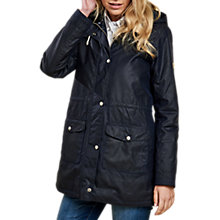 Buy Barbour Selsey Waxed Jacket, Royal Navy Online at johnlewis.com