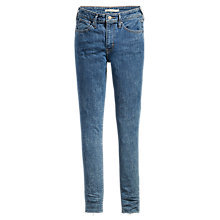 Buy Levi's 721 High Rise Skinny Jeans, Charged Up Online at johnlewis.com