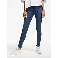 Buy Levi's 711 Mid Rise Skinny Jeans, Escape Artist Online at johnlewis.com
