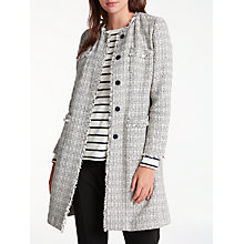 Buy Weekend MaxMara Vicini Boucle Jacket, Ultramarine Online at johnlewis.com