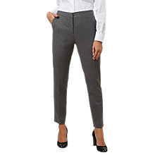 Buy Hobbs Gael Tailored Trousers, Grey Online at johnlewis.com